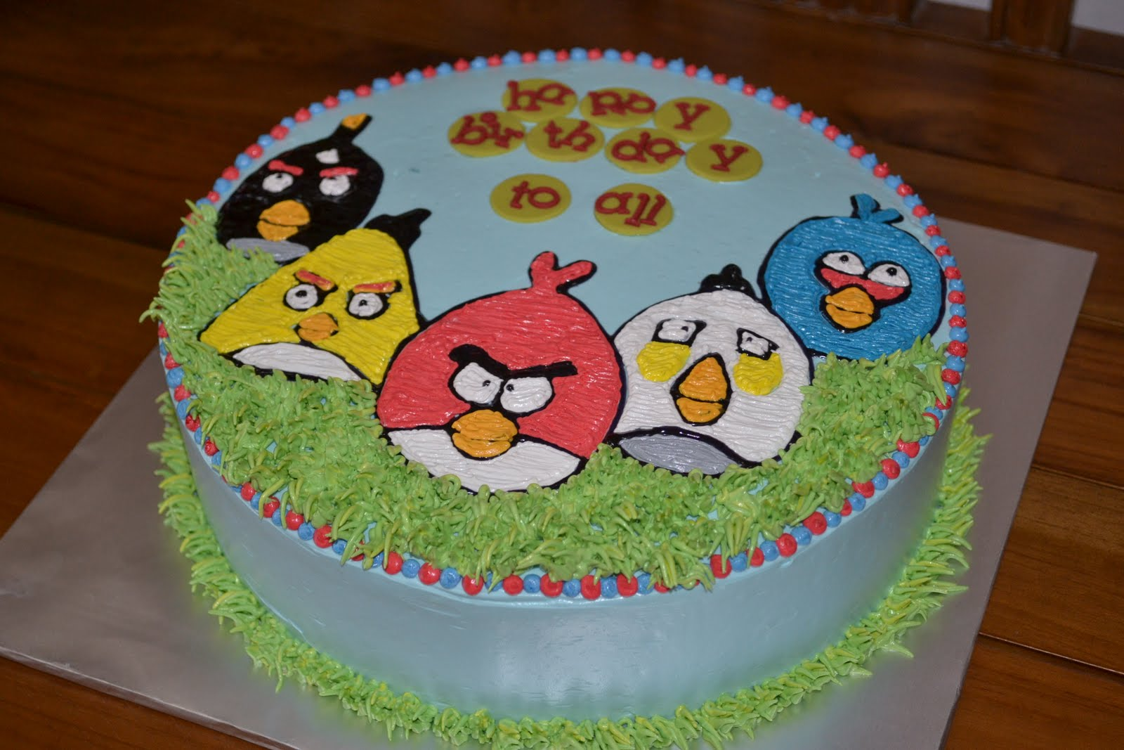 angry bird birthday cake images - Birthday Cake Designs Ideas
