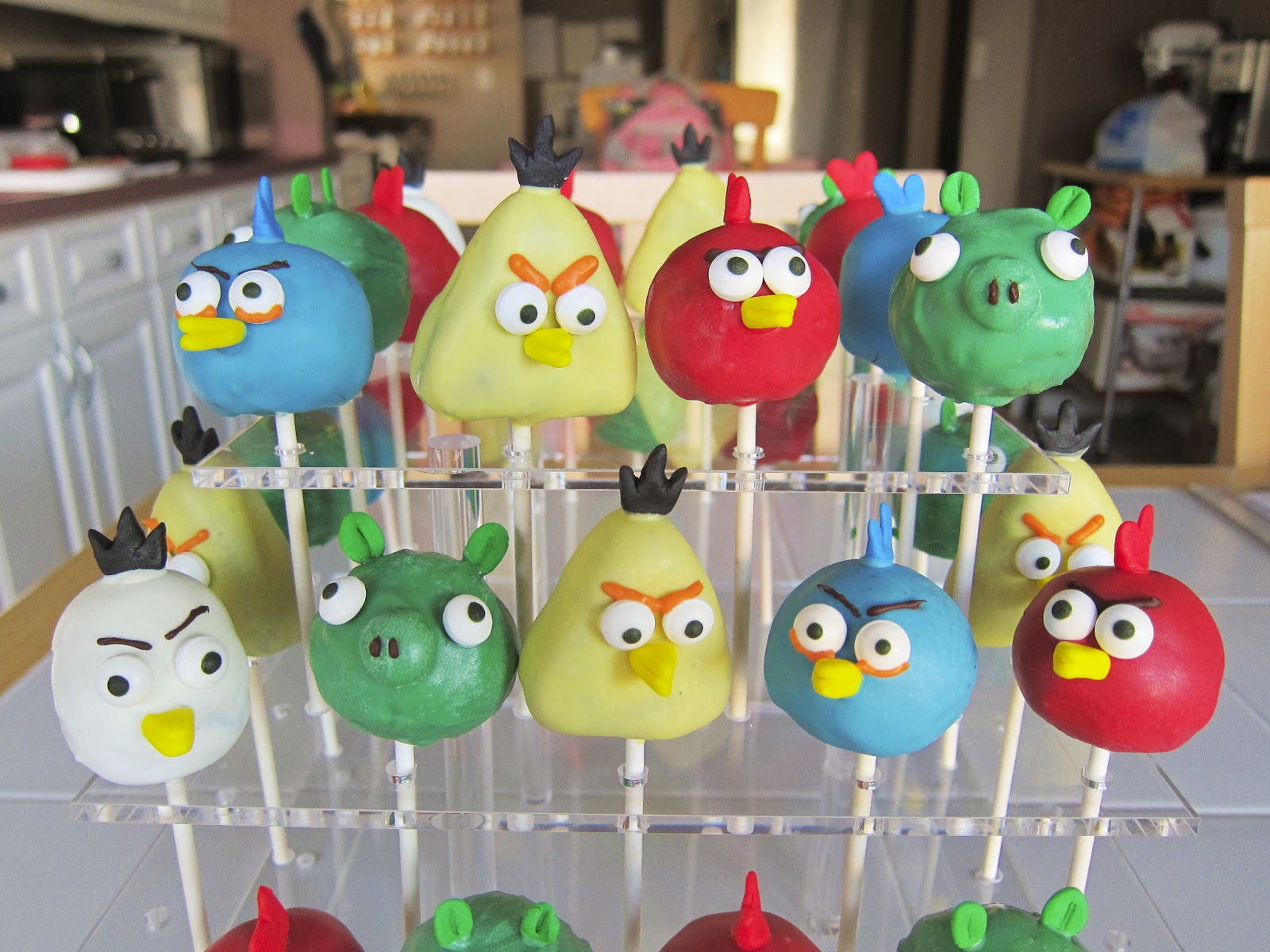 Angry birds cakes decoration ideas little birthday cakes for Angry birds decoration ideas