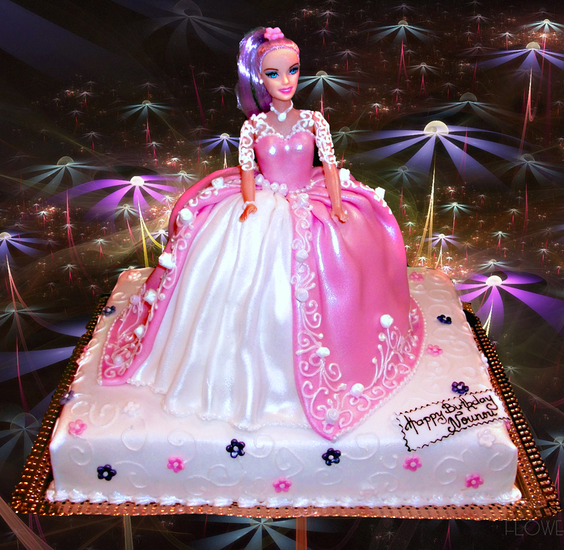 Cake Images Barbie : Birthday Cake Images for Girls Clip Art Pictures Pics with ...