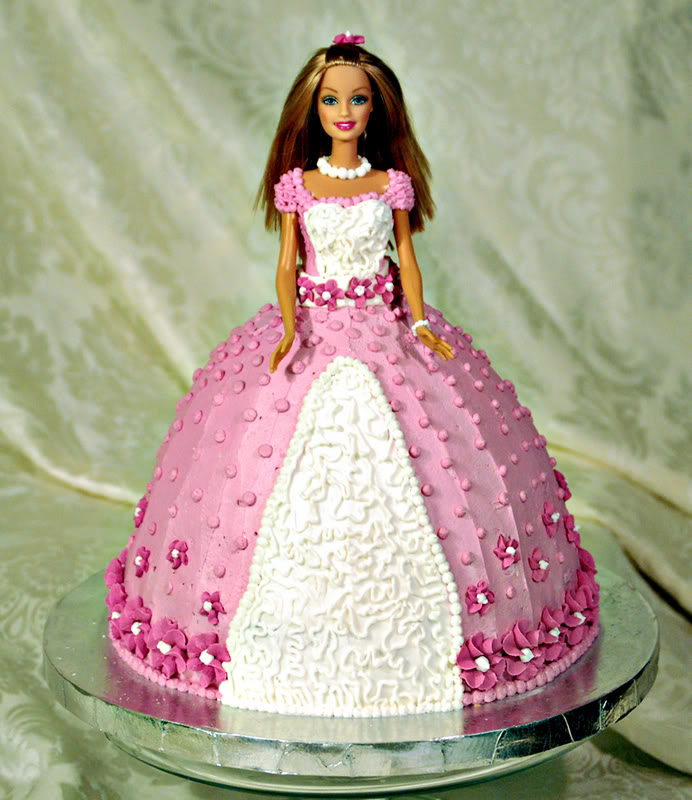 Barbie Doll Cake Decorating Ideas : Barbie Cakes   Decoration Ideas Little Birthday Cakes