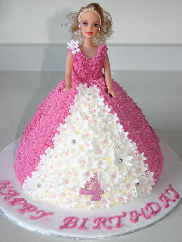 Cake Images Barbie : Barbie Cakes   Decoration Ideas Little Birthday Cakes