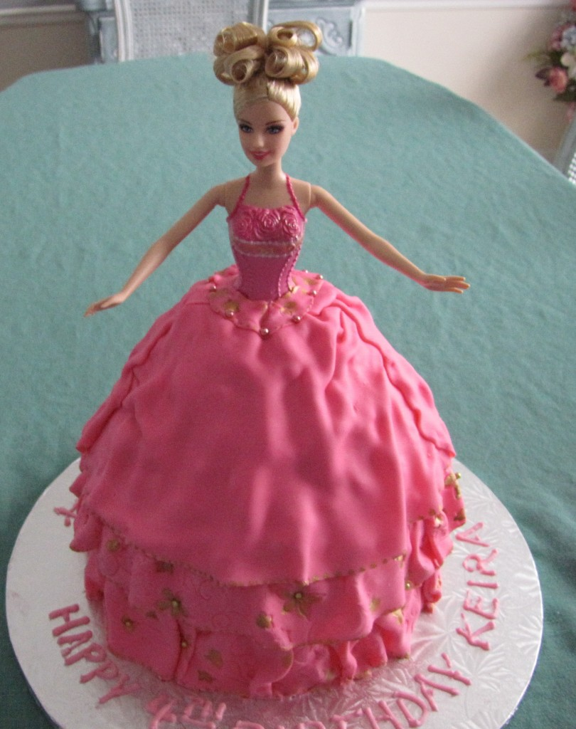 Barbie Cakes Images