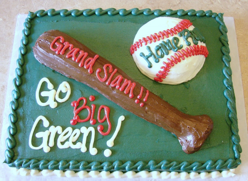Baseball Cake Decorating Ideas