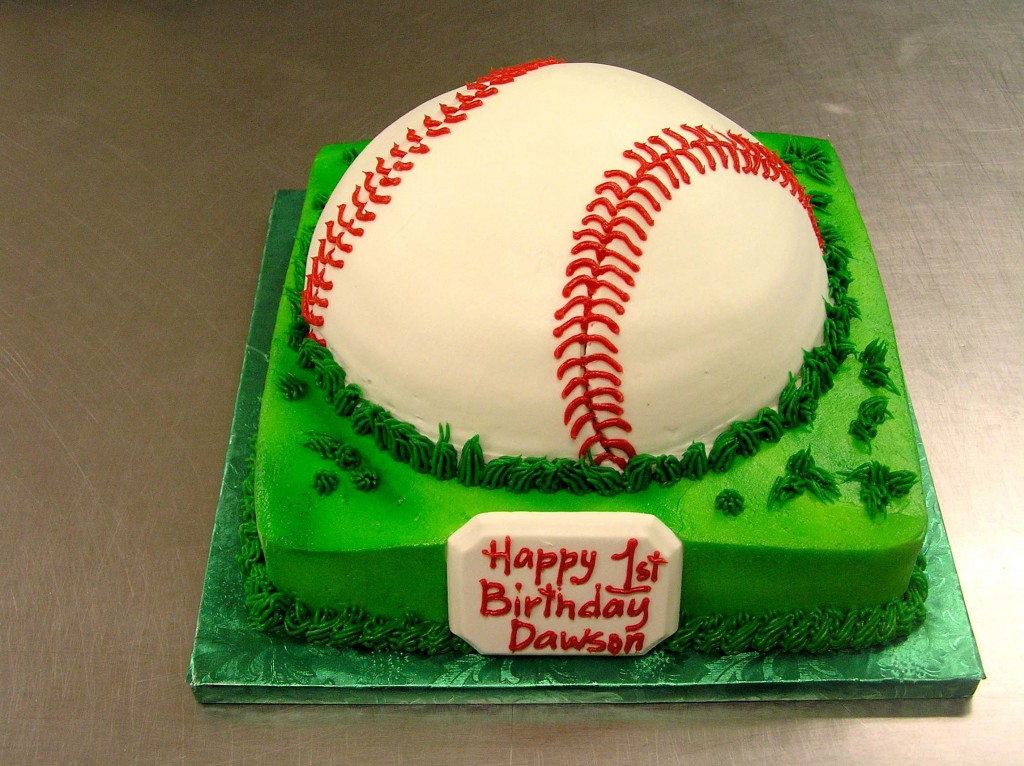 Baseball Cake Designs 1024x766 Pokemon Birthday Cake Designs