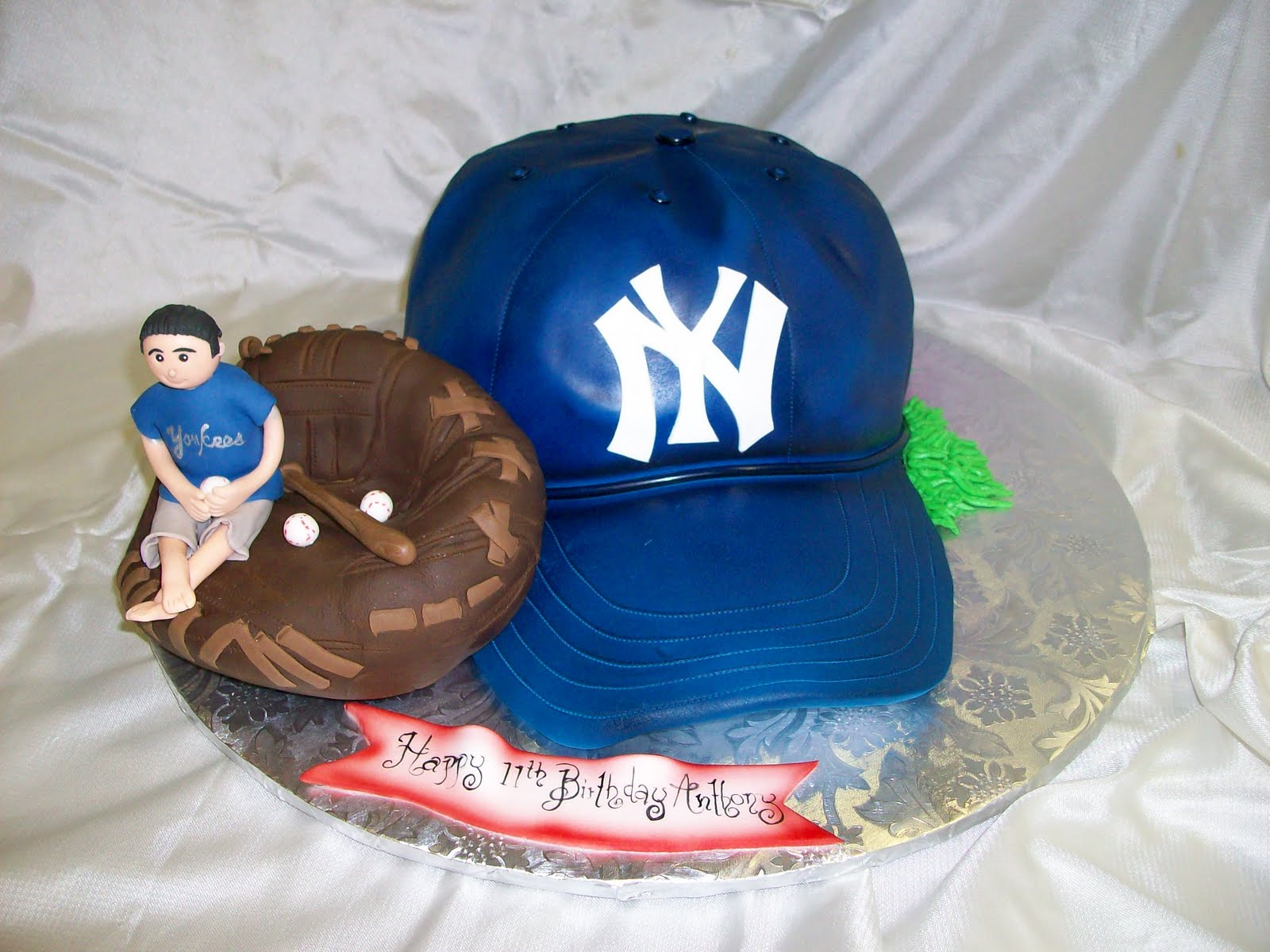 Cake Decorating Toppers Baseball Hat
