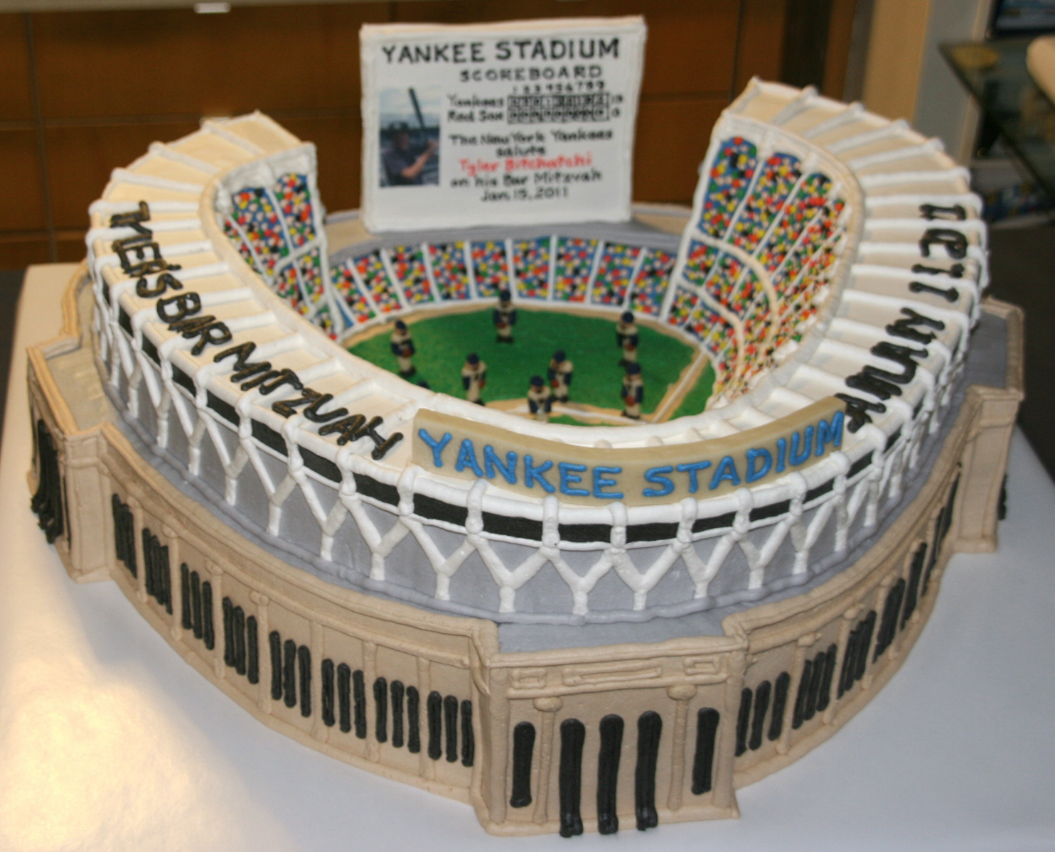 Yankees Cake Decorations