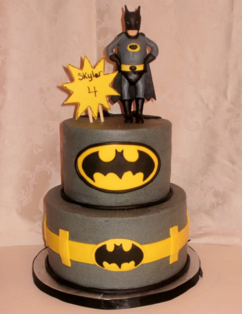 Batman Birthday Cake Design