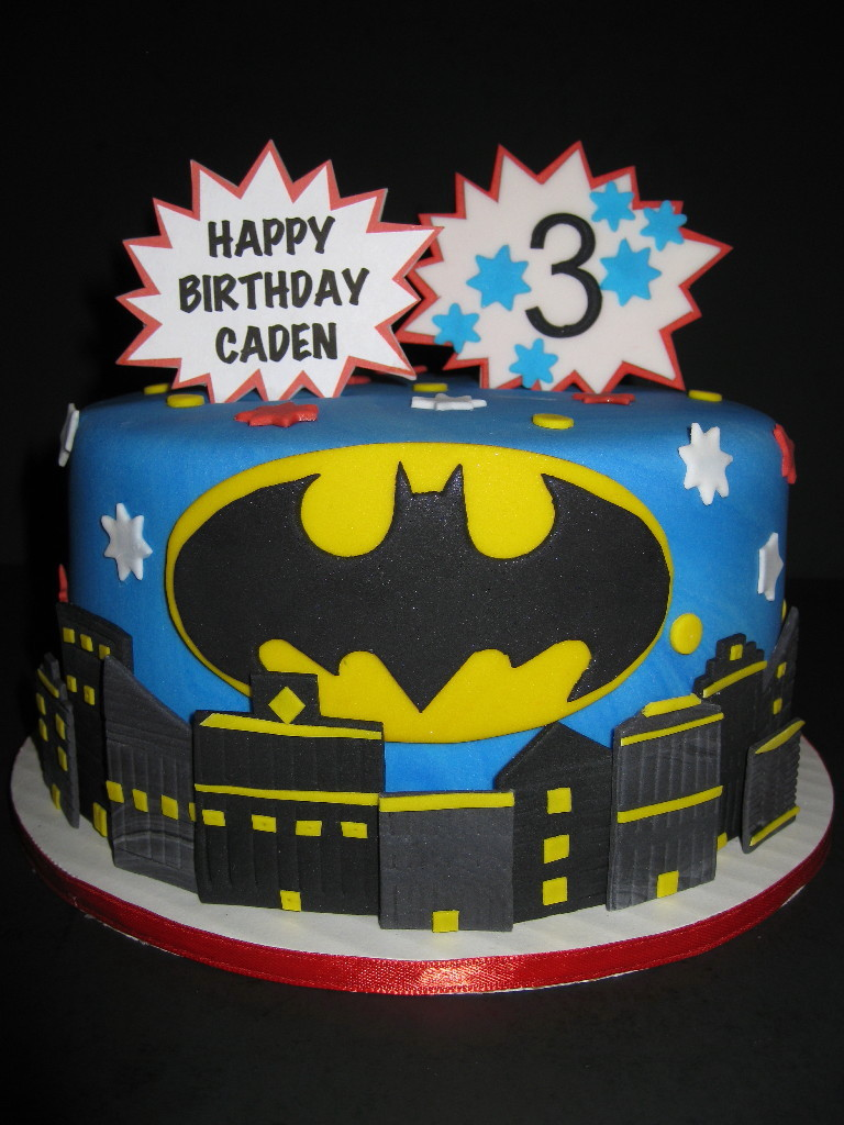 Batman Birthday Cake Images