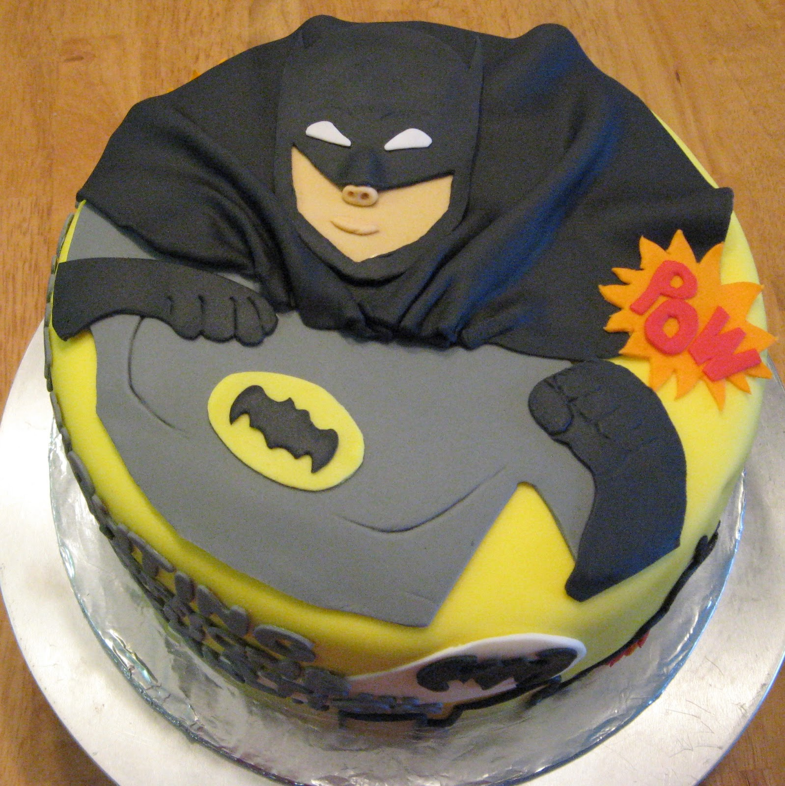 Batman Birthday Cake Template