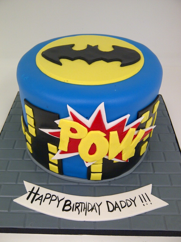 Batman Birthday Cakes Images