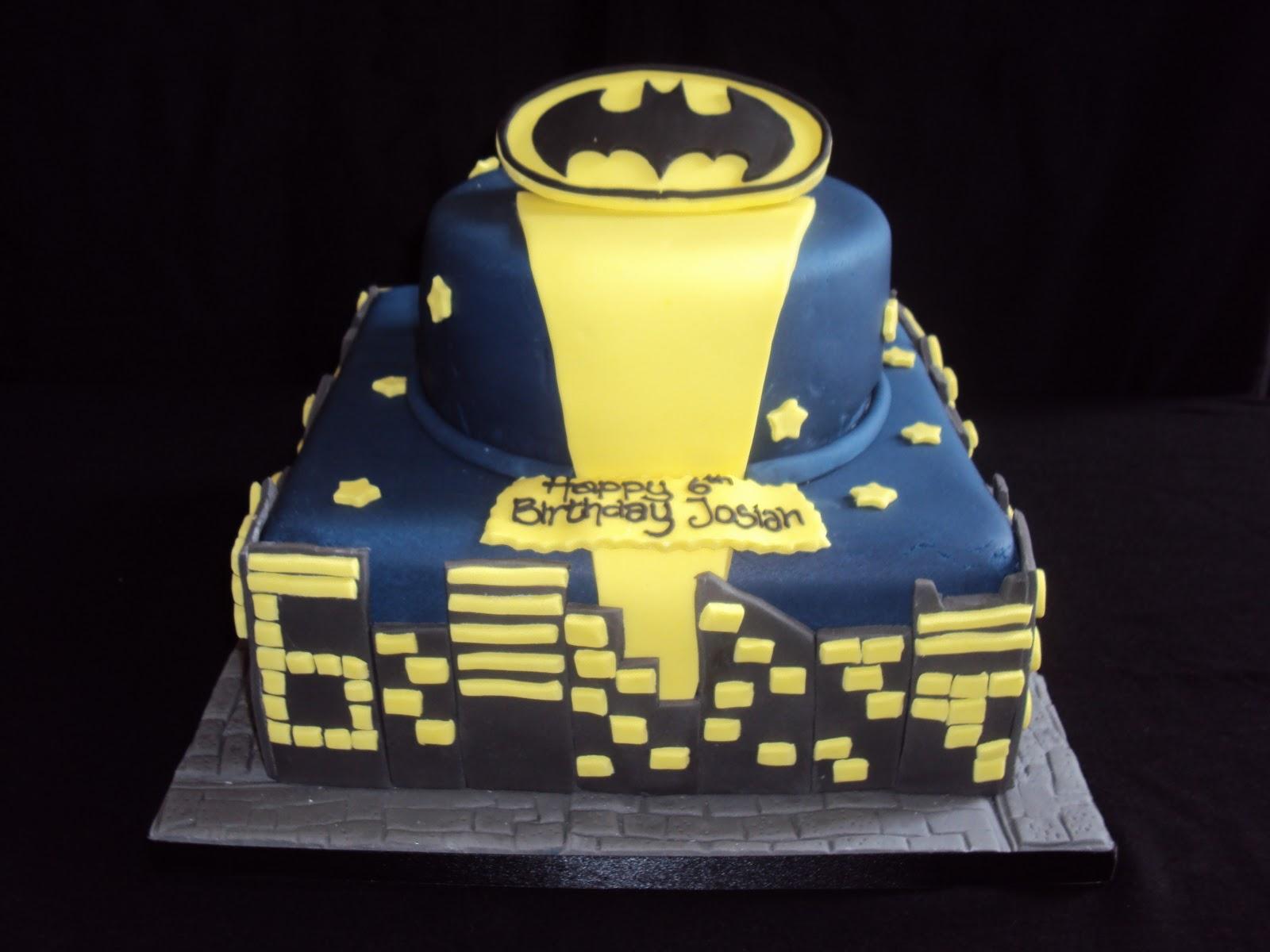 Batman Cakes  U2013 Decoration Ideas
