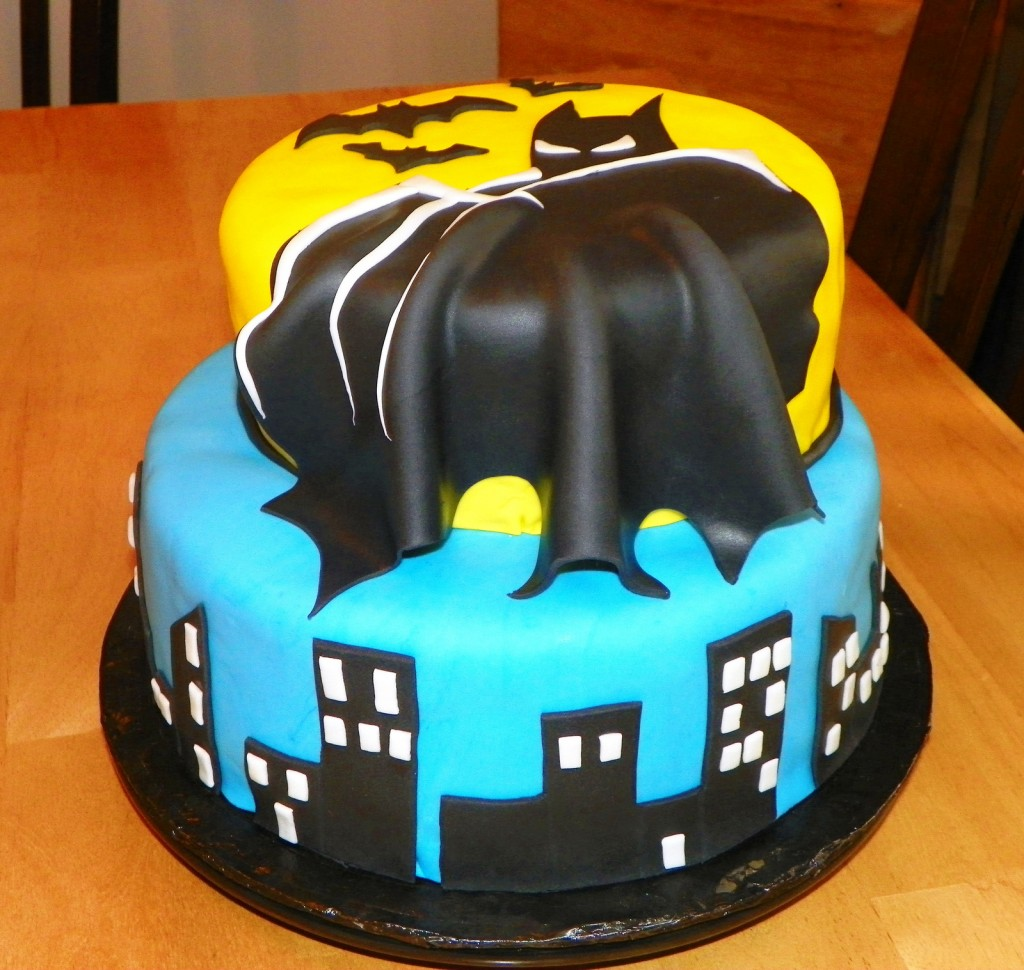 Batman Lego Birthday Cake