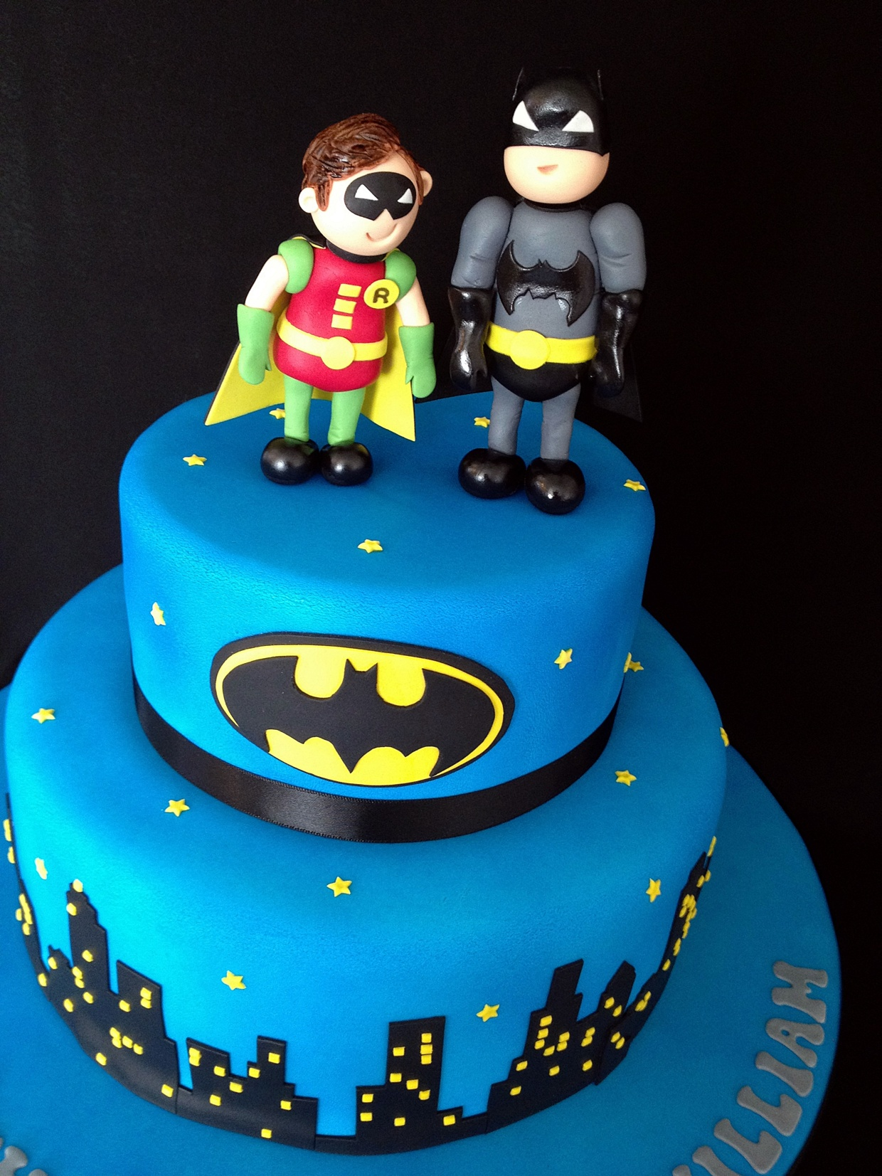 Batman And Robin Birthday Cakes