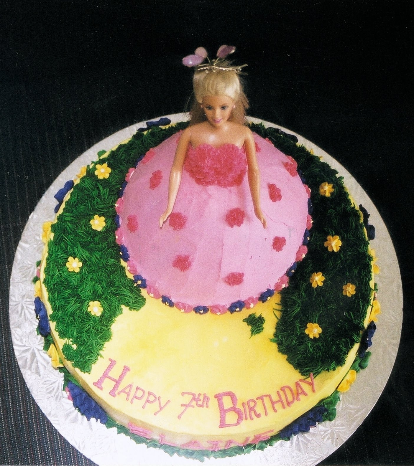 Birthday Cake Designs Barbie : Barbie Cakes   Decoration Ideas Little Birthday Cakes