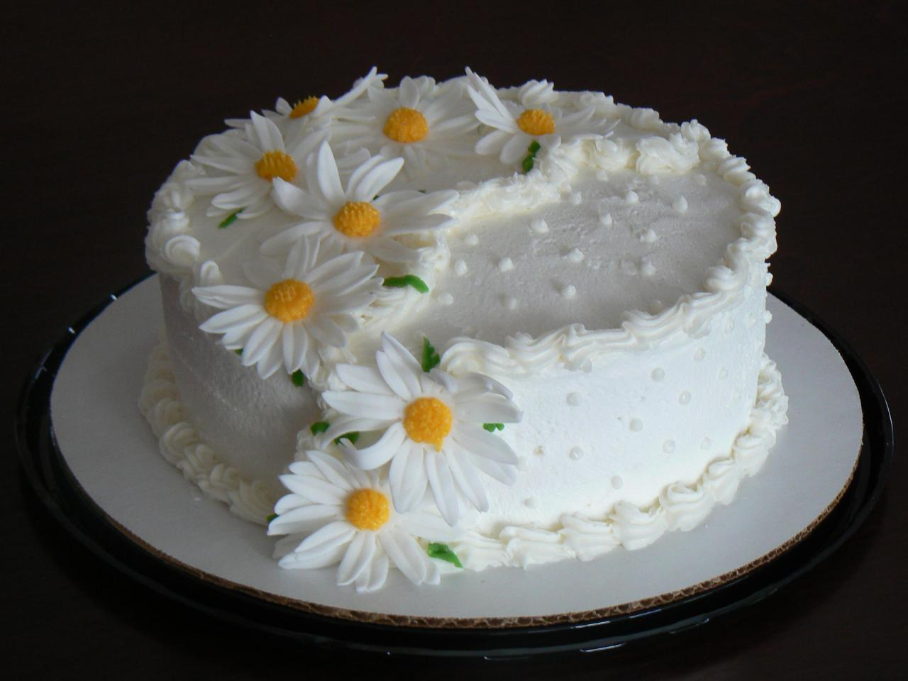 Cake Decorating Buttercream Birthday : Flower Cakes   Decoration Ideas Little Birthday Cakes