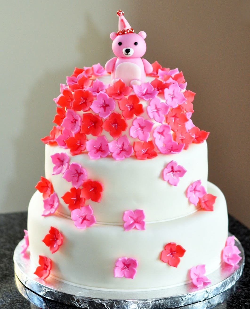 Cake Images In Birthday : Flower Cakes   Decoration Ideas Little Birthday Cakes