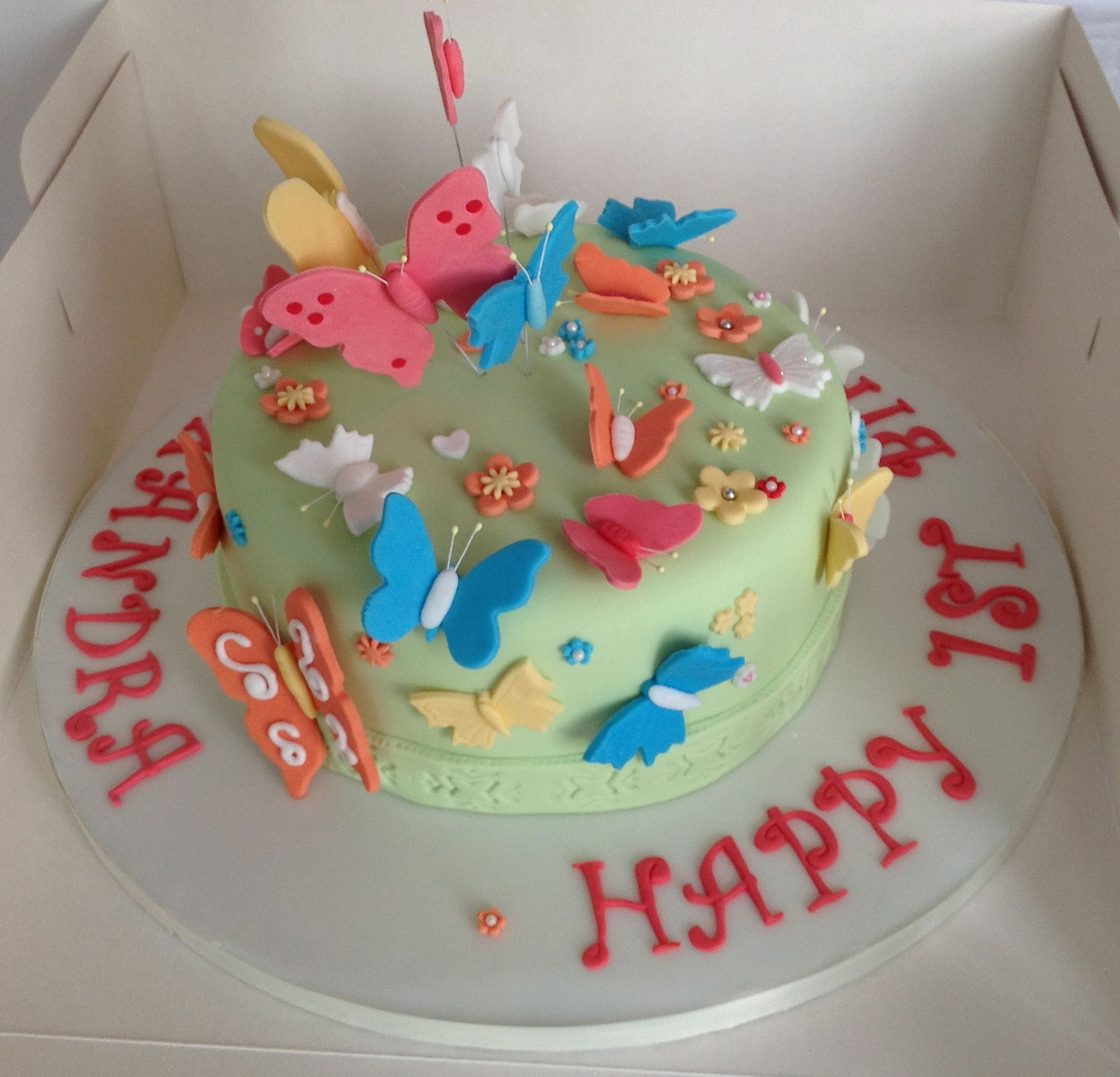 Cake Decoration Butterfly : Butterfly Cakes   Decoration Ideas Little Birthday Cakes