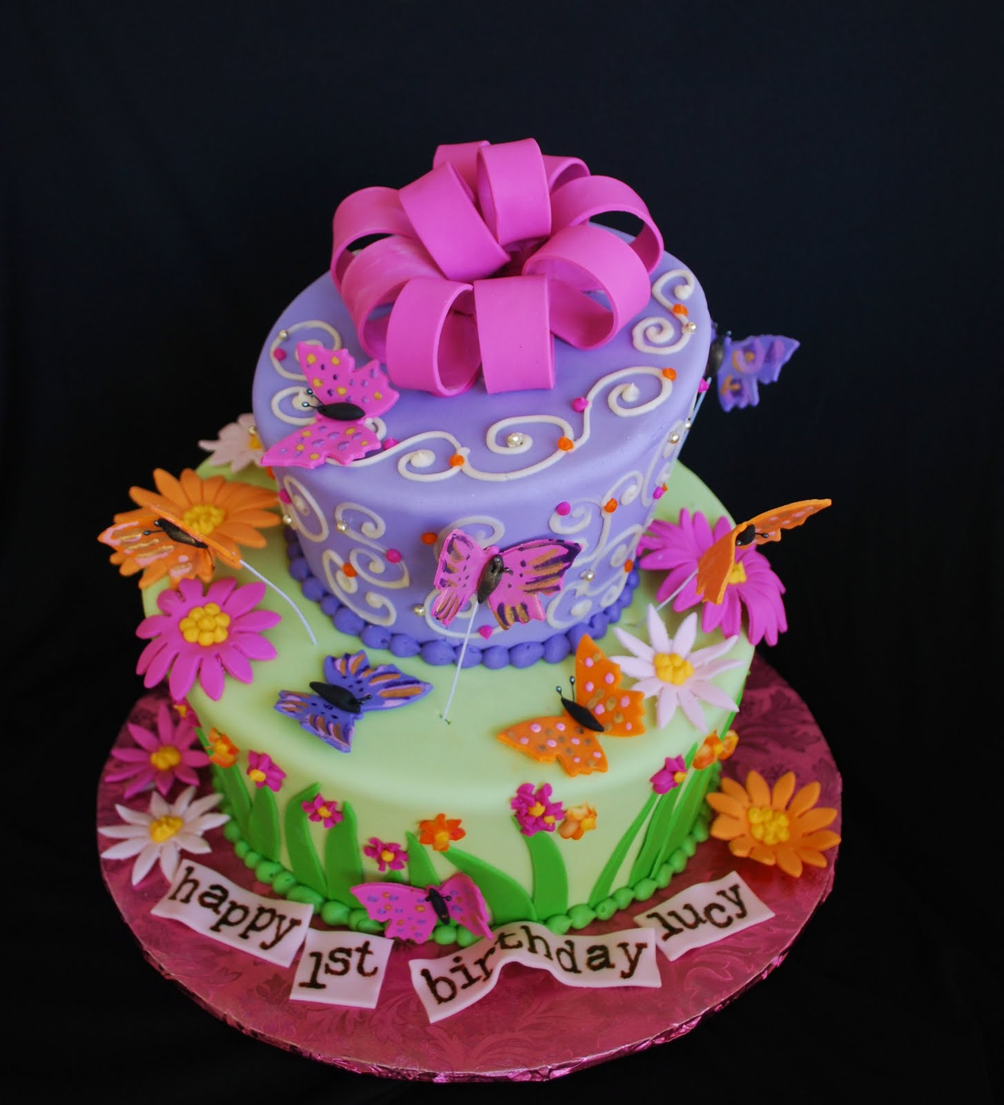 Butterfly Cake Pan Decorating Ideas : Butterfly Cake Recipe   Dishmaps