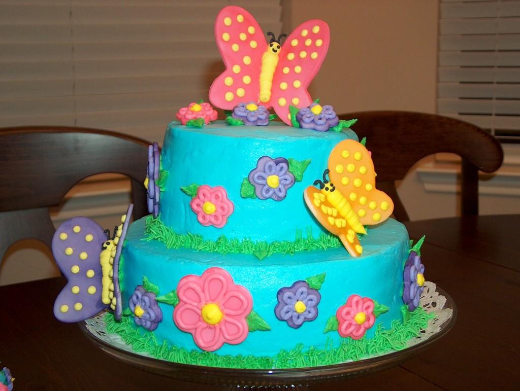 Тортик ребёнку на день рождения фото