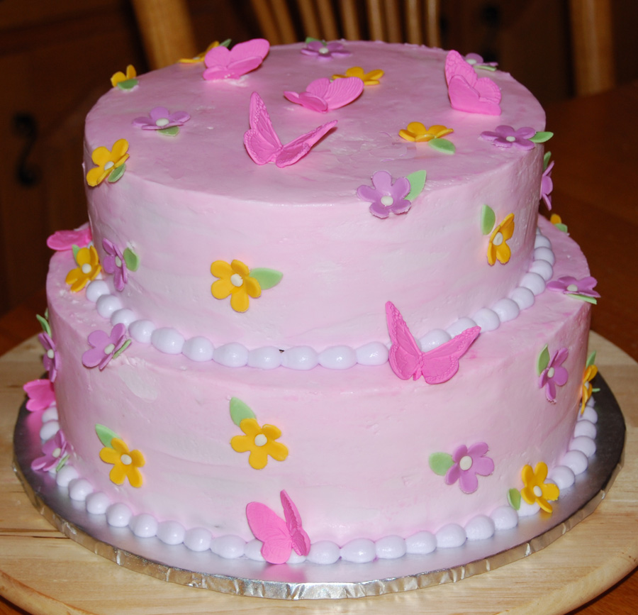 Decoration Of Birthday Cake : Butterfly Cakes   Decoration Ideas Little Birthday Cakes