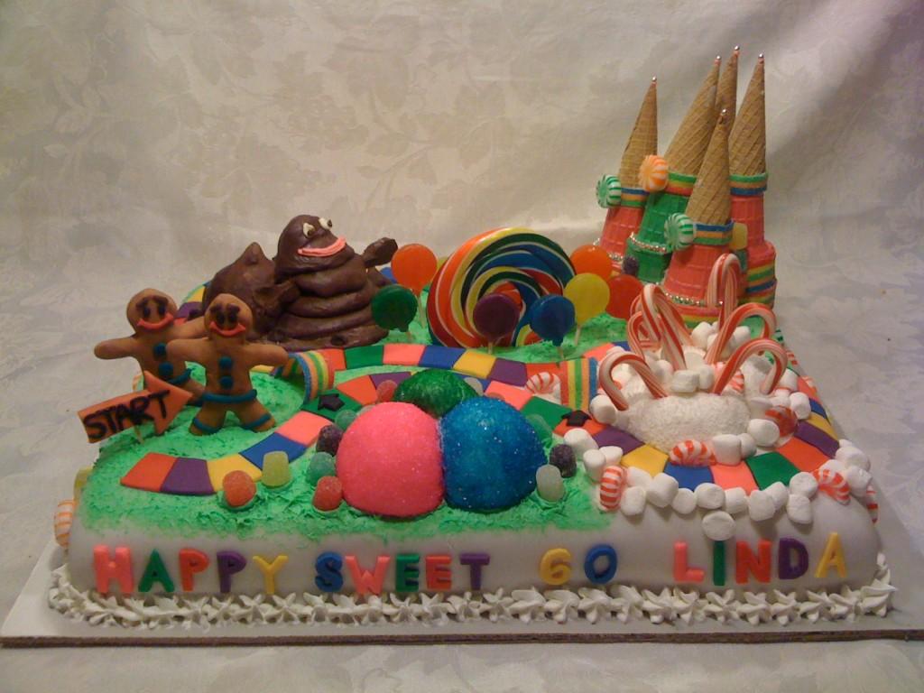 Cake Boss Candyland Cake