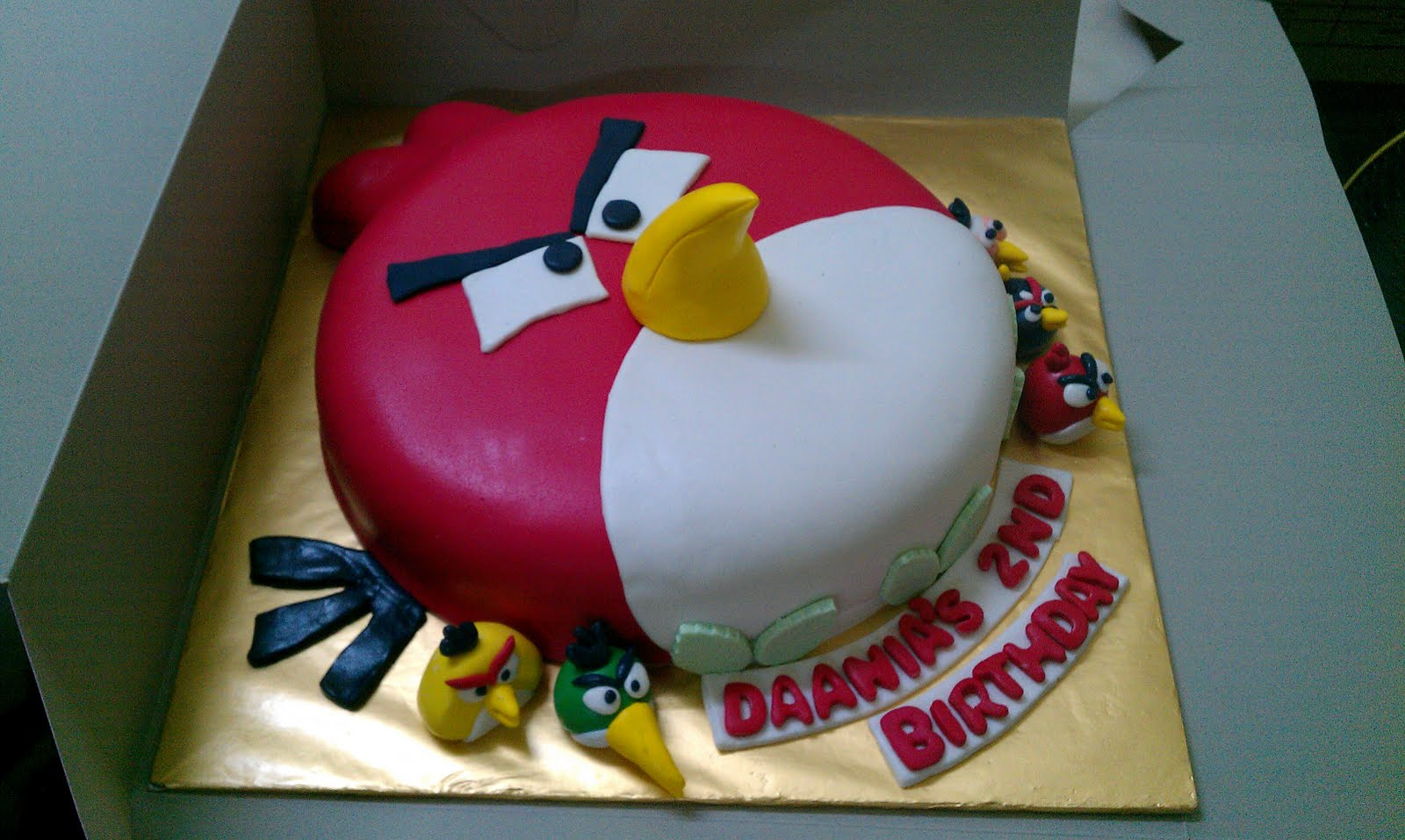 Images Of Angry Birds Cake : Angry Birds Cakes   Decoration Ideas Little Birthday Cakes
