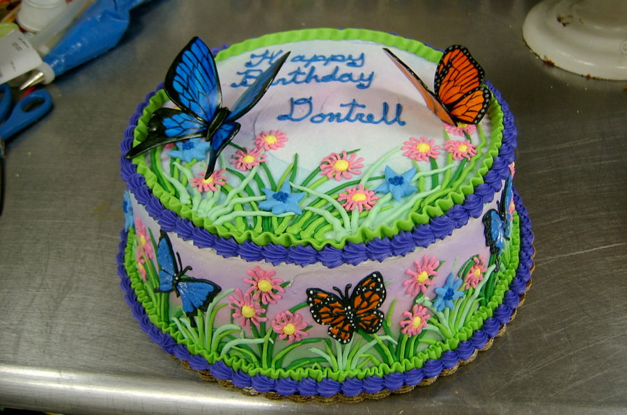 Cake Decorating Party Ideas : Butterfly Cakes   Decoration Ideas Little Birthday Cakes
