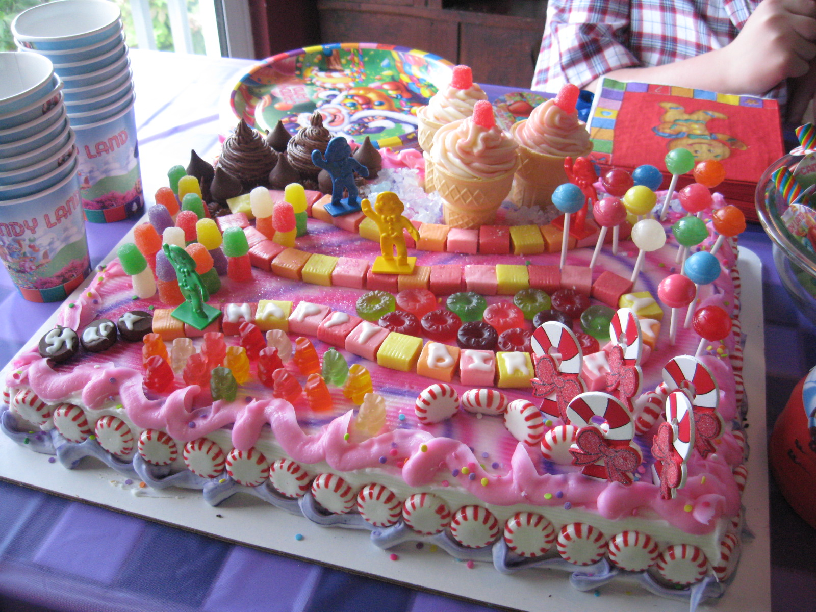 Cake Decorating Party Ideas : Candyland Cakes   Decoration Ideas Little Birthday Cakes
