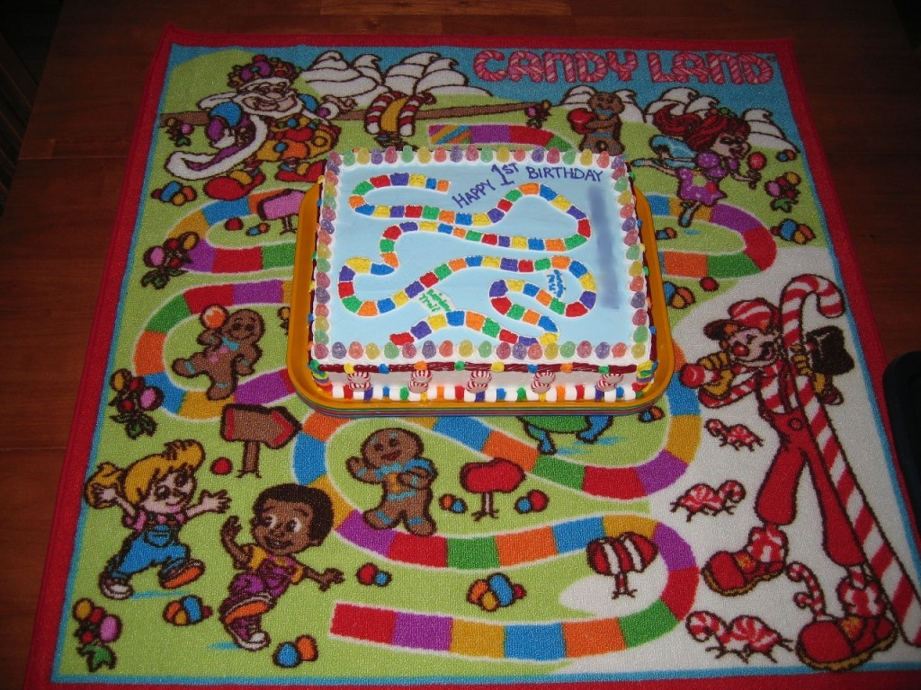 Candyland Birthday Cakes