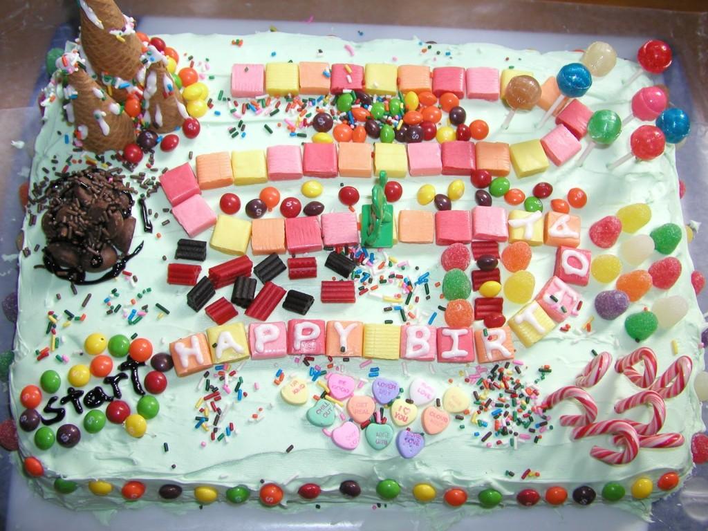 Candyland Cake Images