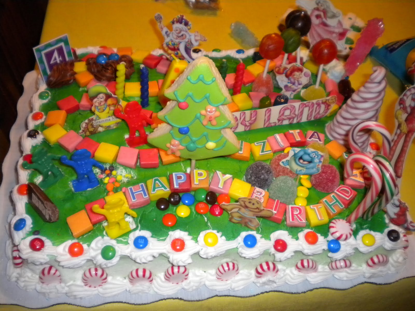 Candyland Cakes Decoration Ideas