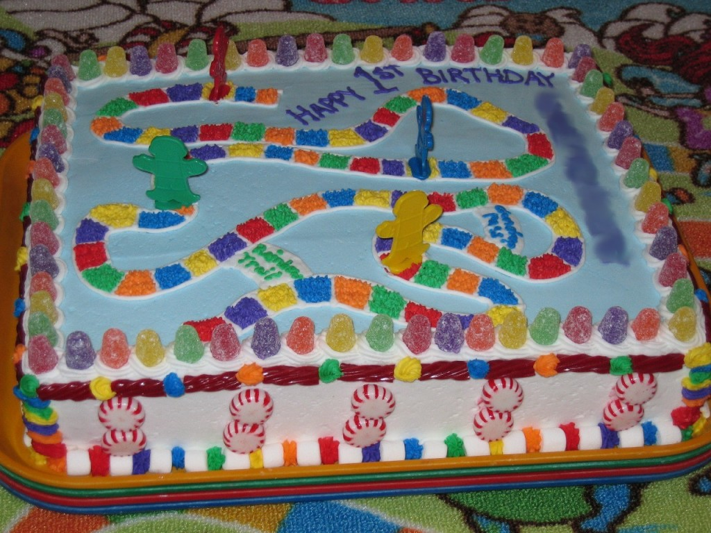 Candyland Cake Toppers