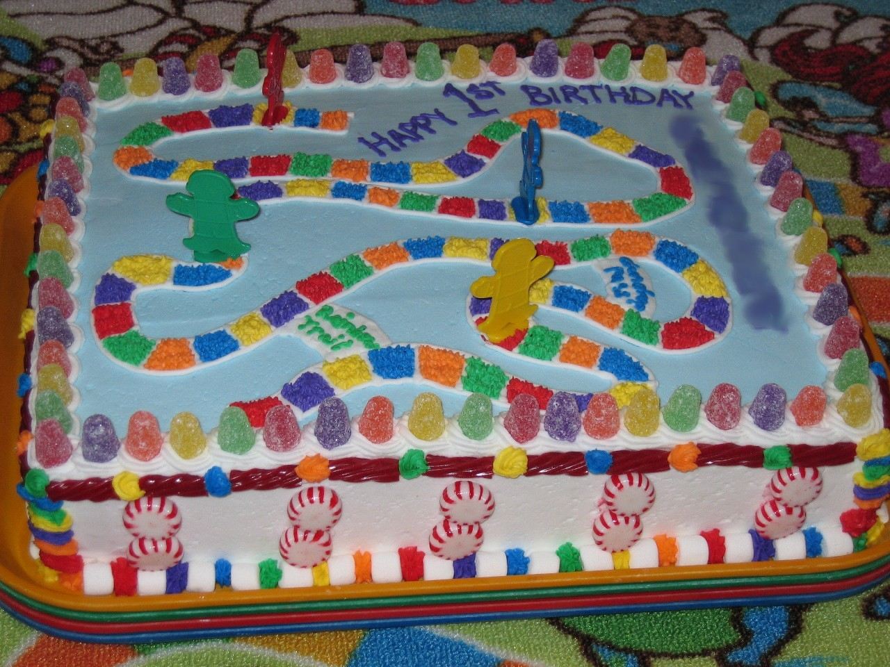 Candy Land Theme Cakes