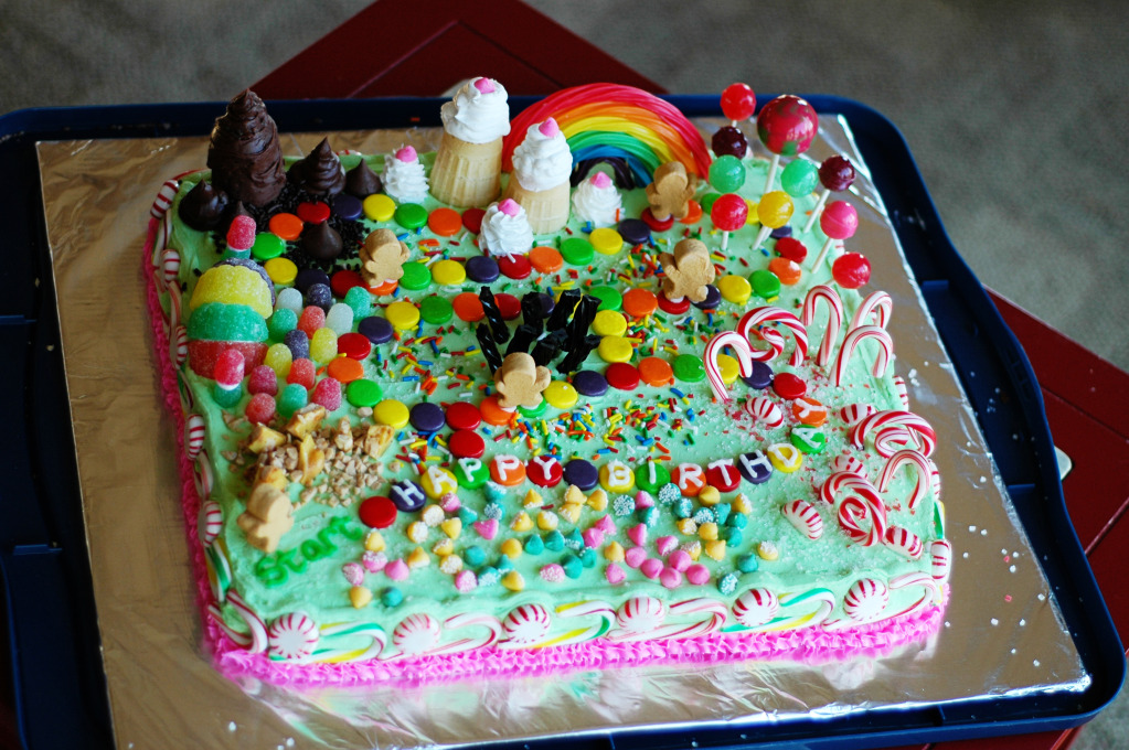 Candyland Cakes Pictures
