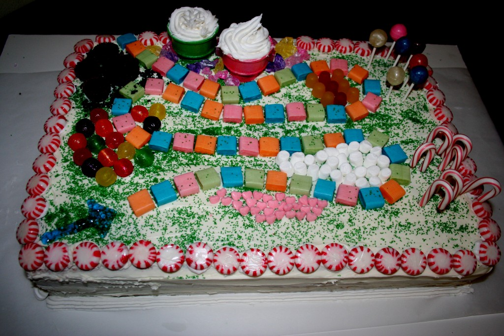 Candyland Themed Cakes