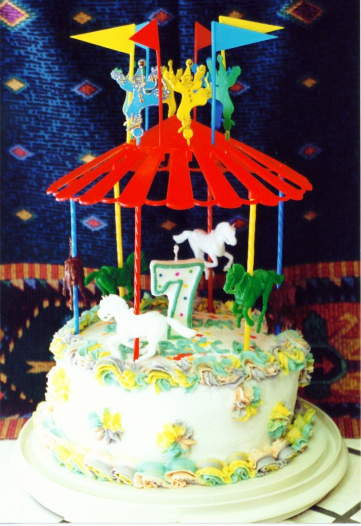 Carousel Birthday Cakes Pictures