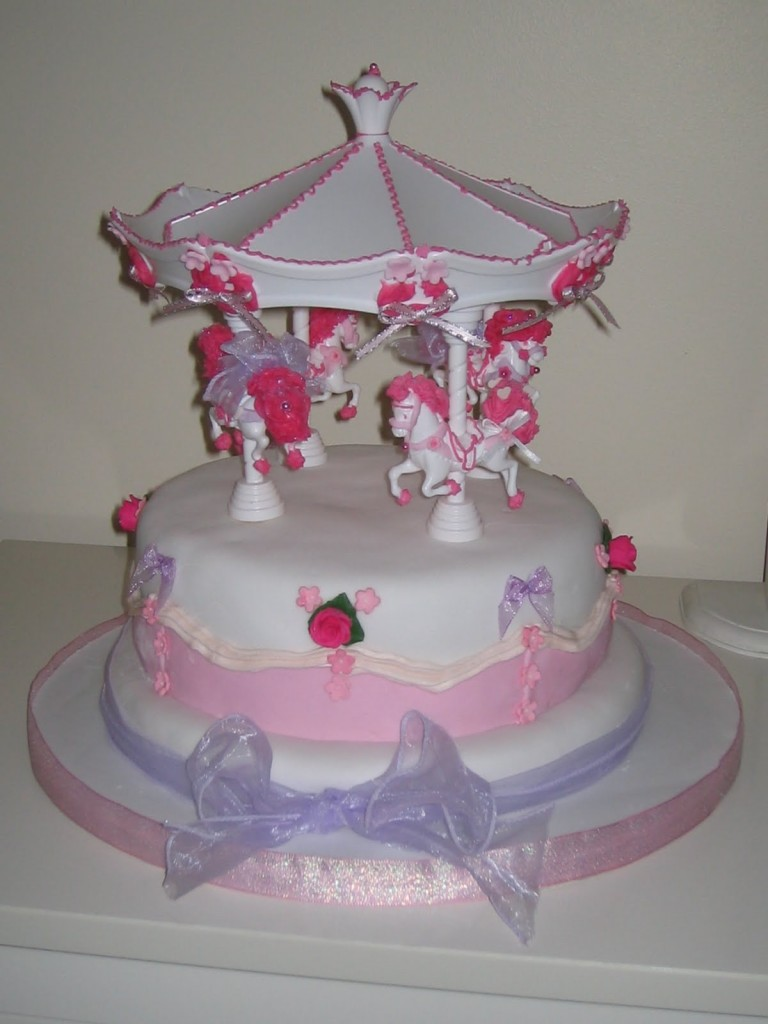 Carousel Cake Images