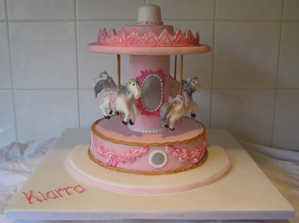Carousel Cake Photos