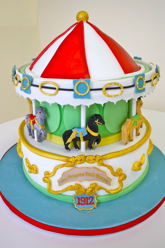 Carousel Cake Pictures