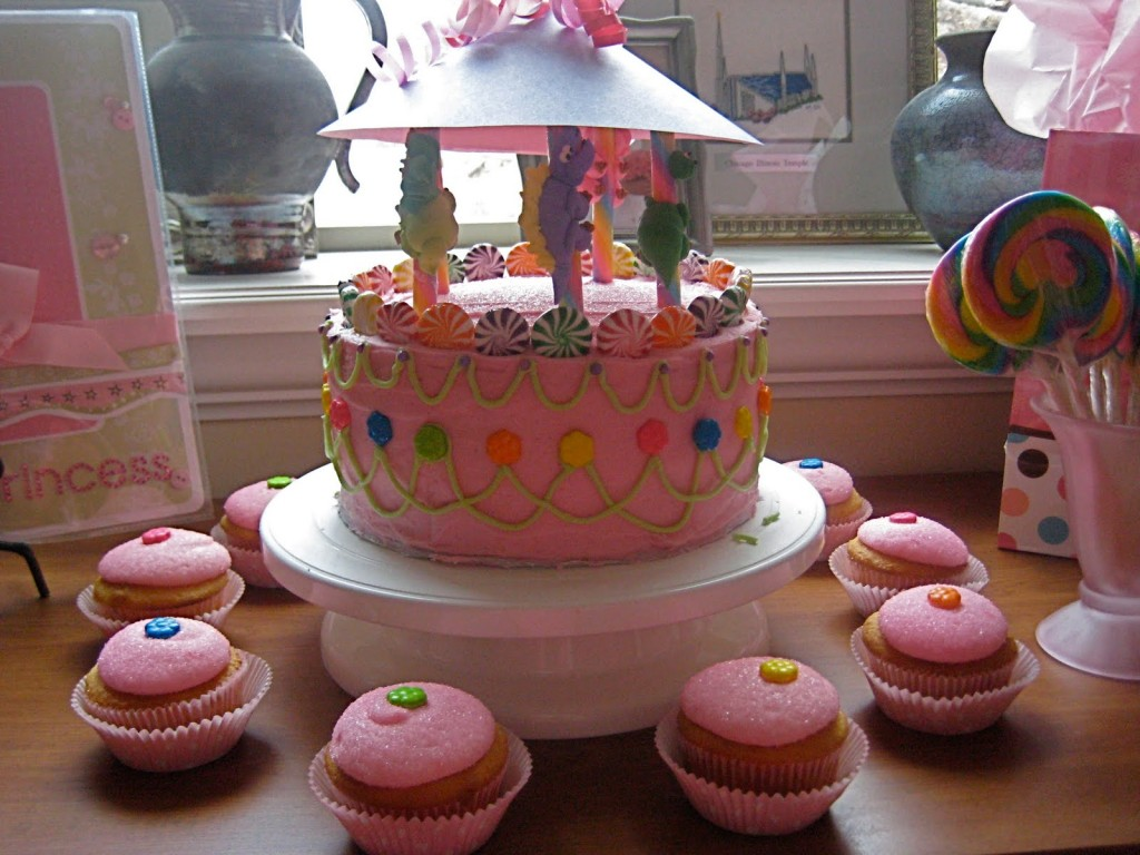 Carousel Cakes For Kids