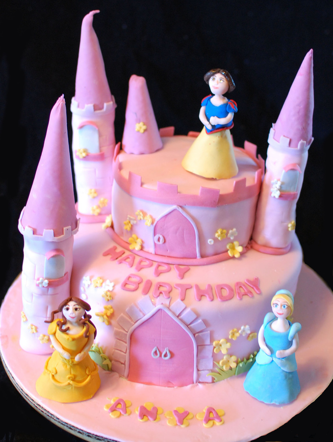 Castle Birthday Cake Pictures