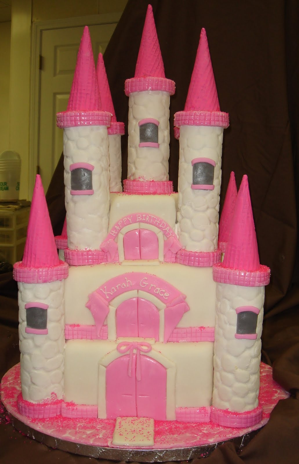 Castle Cakes For Girls