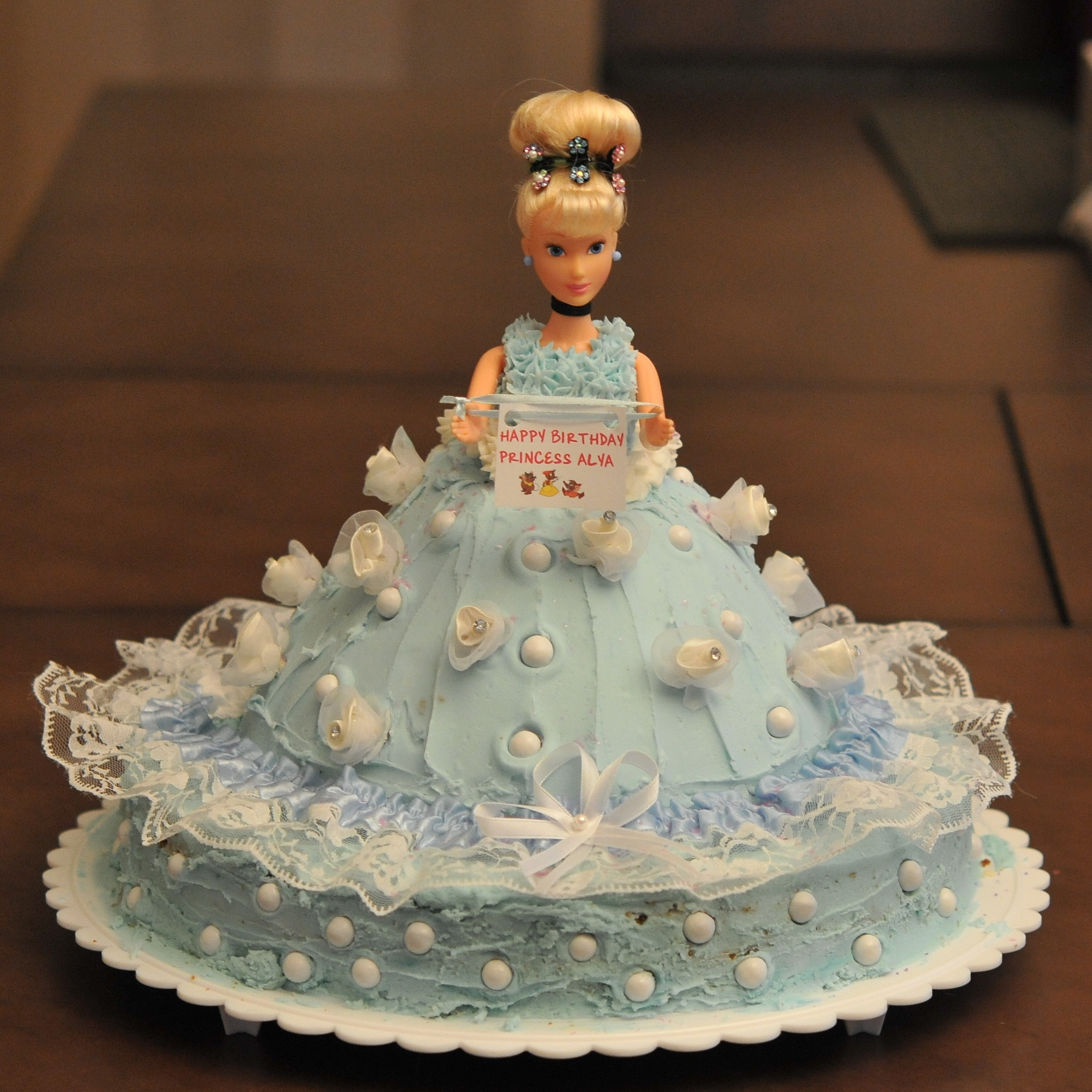 Cinderella cakes decoration ideas little birthday cakes for Anniversary cake decoration
