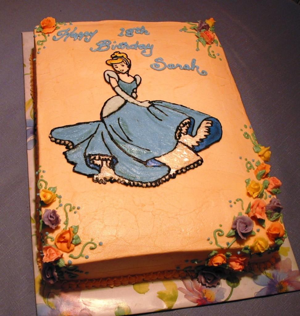 Cinderella Cakes Pictures