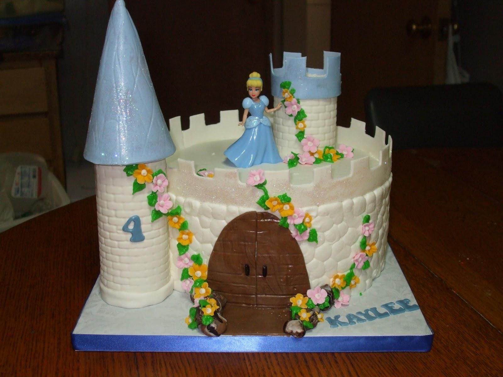 Disney Castle Cake Images : Cinderella Cakes   Decoration Ideas Little Birthday Cakes
