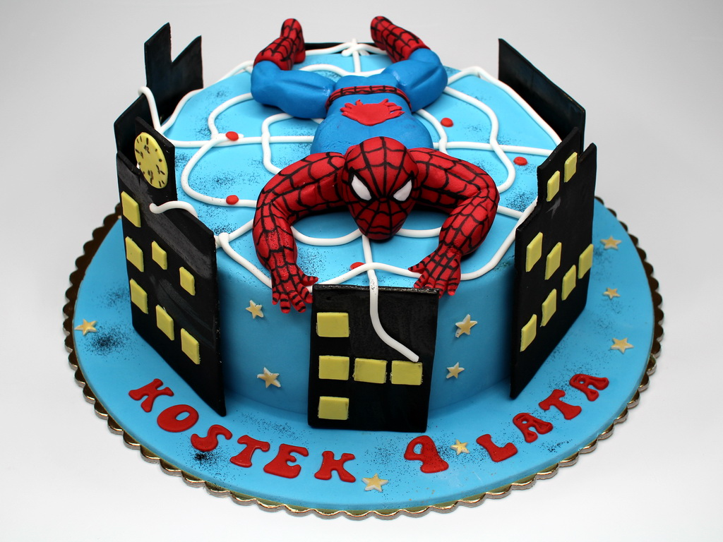 Spiderman Cake Decorations Uk : Spiderman Cakes   Decoration Ideas Little Birthday Cakes