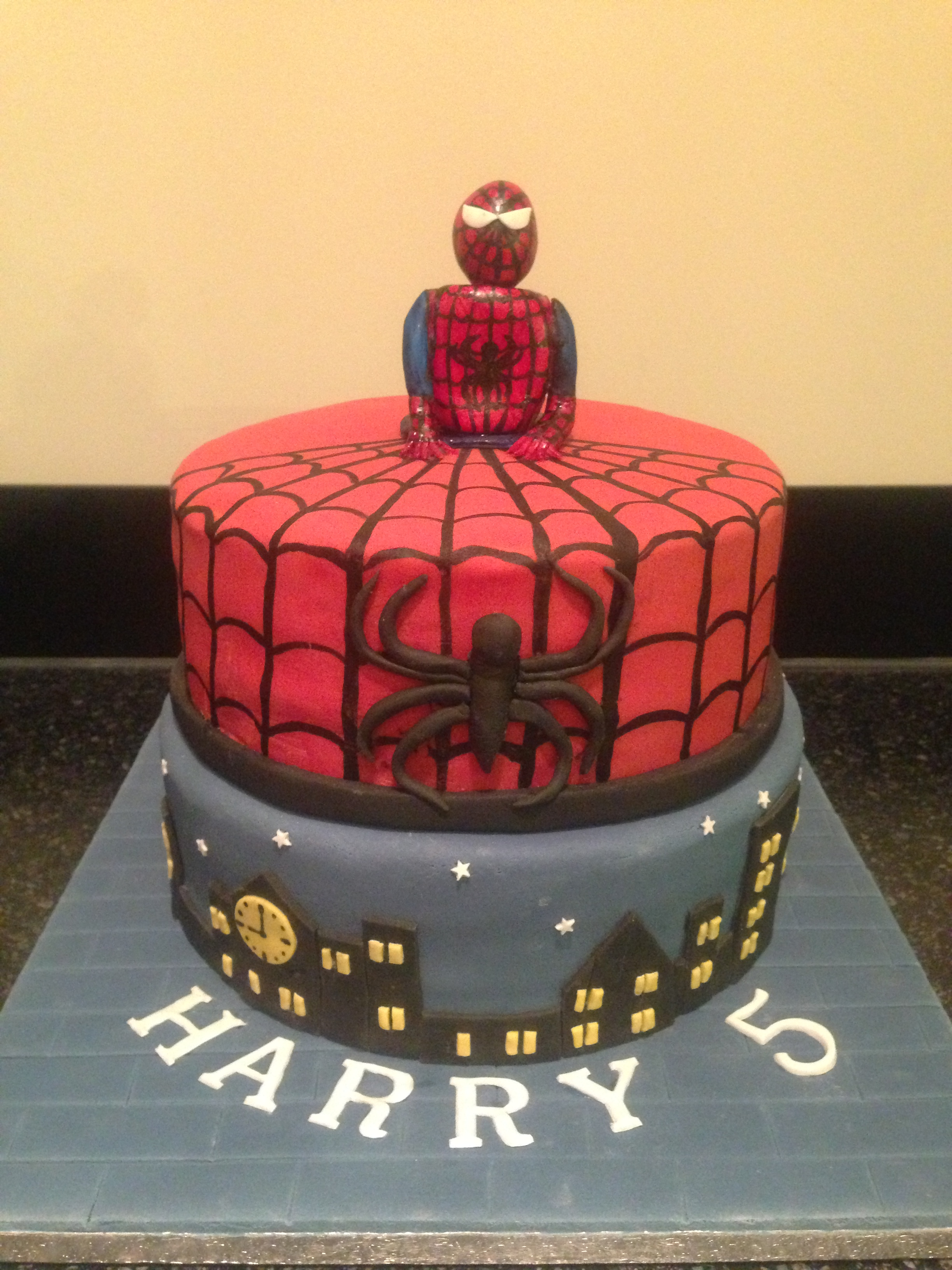 Spiderman Cakes Decoration Ideas