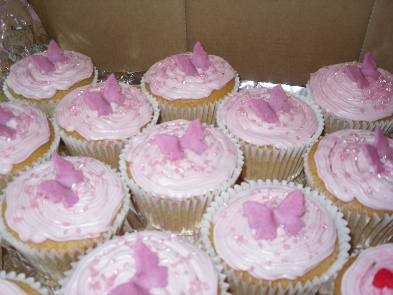 Cupcake Butterfly Cake