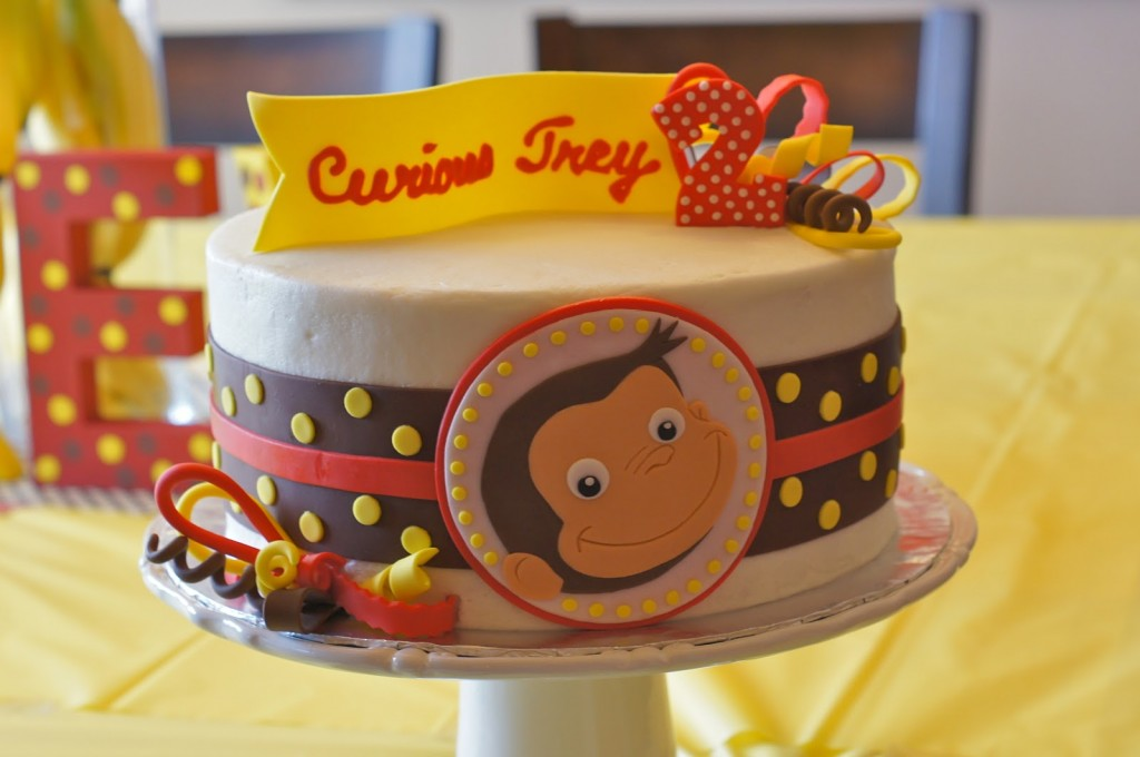Curious George Birthday Cakes Pictures