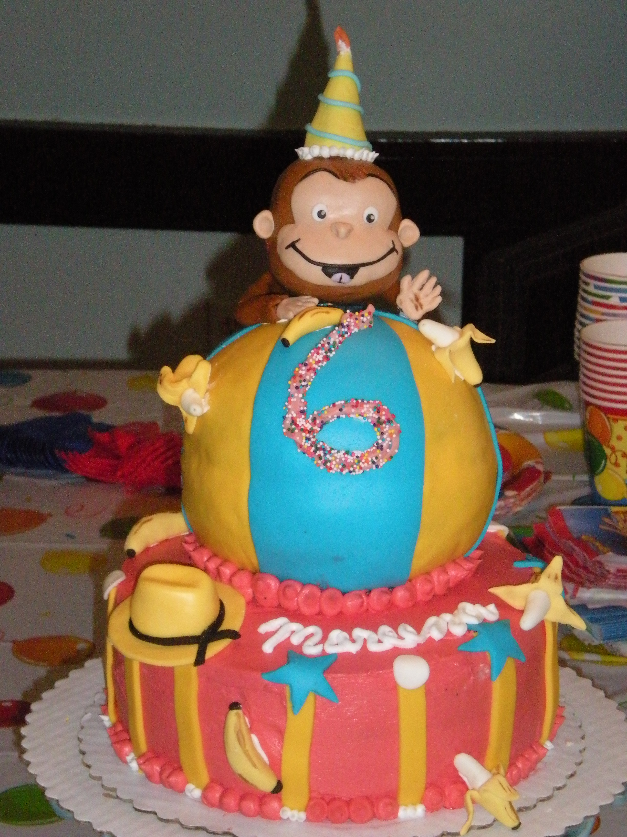Curious George Cakes Decoration Ideas Little Birthday